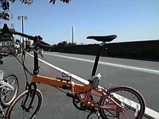 本日もサイクリングへ