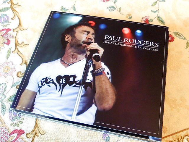 Paul Rodgersのライブ盤